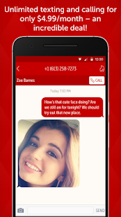 Hushed Second Phone Number App- screenshot thumbnail