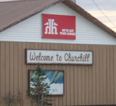 Photo: Our adventure takes place in Churchill, Manitoba, Canada in Oct. 2010
