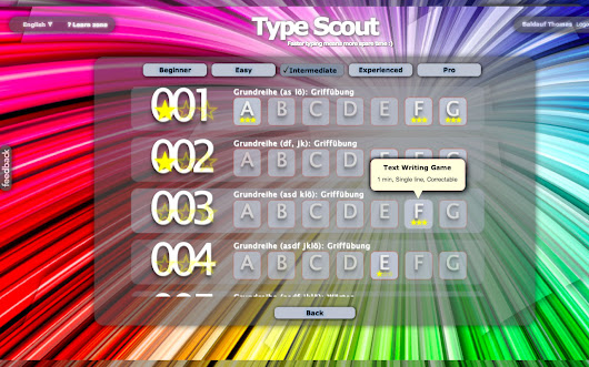 Typing Scout - Better Typing! :)