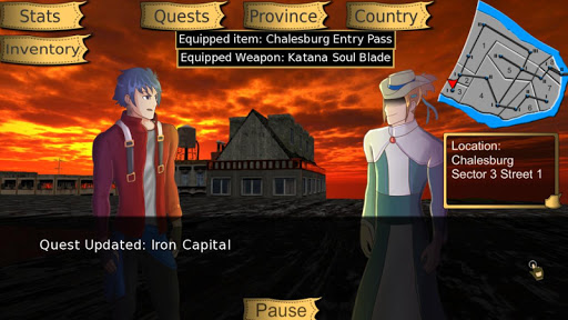 Niara: Rebellion Of the King Visual Novel RPG - screenshot