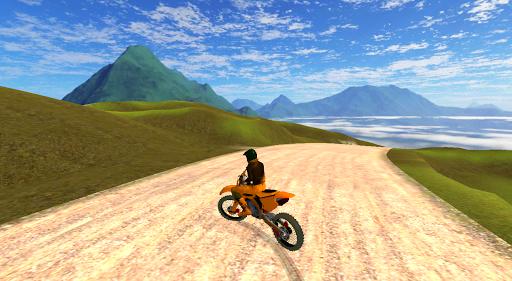 Motocross Alpin Simulator