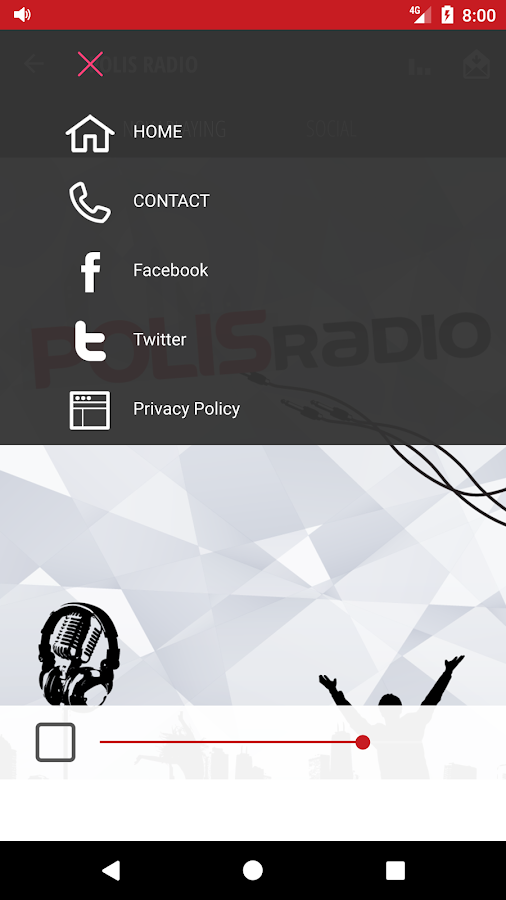 POLIS RADIO- screenshot