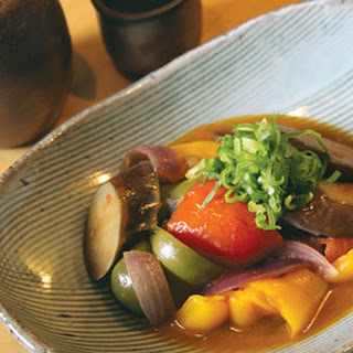 Japanese-Style Ratatouille with Eggplant