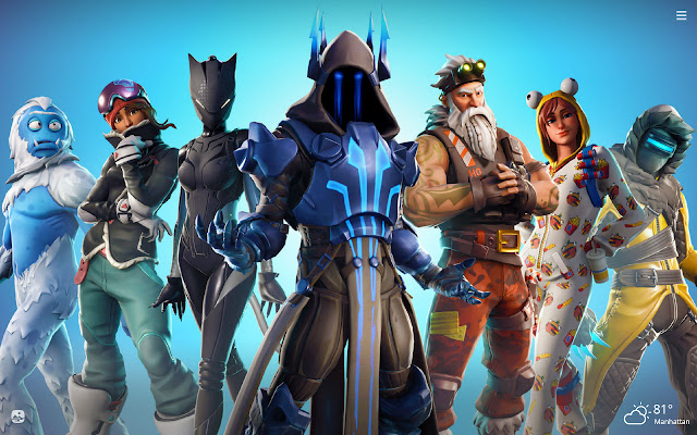 The Ice King Fortnite Skin HD Wallpapers