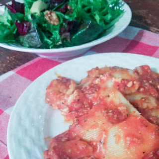 30 Minute Lasagna and Healthy Winter Salad