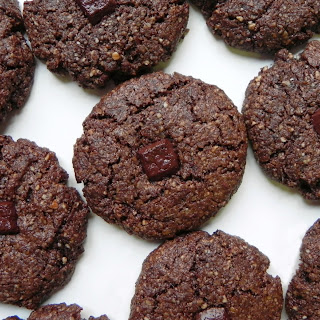 Double Chocolate Cookies (Chocolate Almond Meal Cookies).