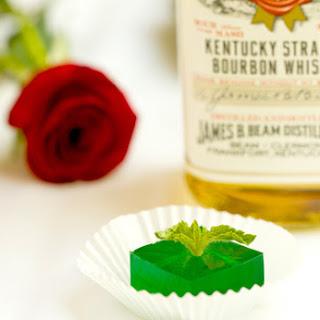 Mint Julep Jell-O Shots