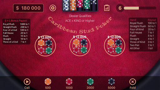 Caribbean Stud Poker 1.1.7 screenshots 9