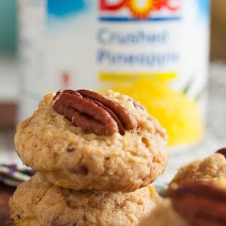 Hawaiian Pineapple Pecan Cookies