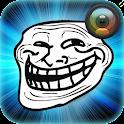 Troll Face Photo Sticker icon