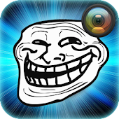 Troll Face Photo Sticker