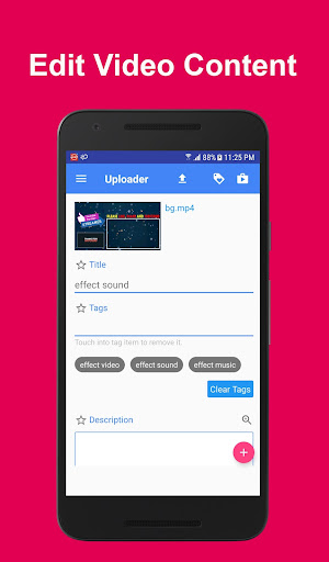 Video Uploader Pro For Youtube 1.1 screenshots 2