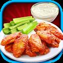 Buffalo Wings: Food Game icon
