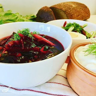 Classic Svekolnik Soup (Свекольник) Recipe