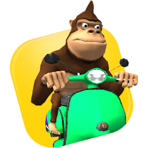 Monkey MOTO Racing 3D for PC and MAC