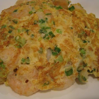 Eggs Fooyoung with Shrimp