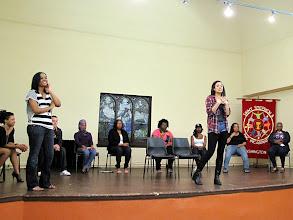 Photo: 3.24.12 DC Women's Theater Group's monologue showcase on street harassment, Washington, DC, USA