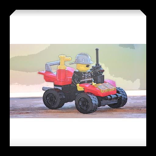 Hill climb lego monster truck