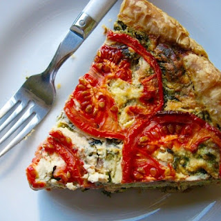 Tomato-Basil Quiche Recipe