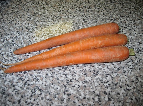 Wash and cut carrots into 1 1/2 inch pieces and add on top on...