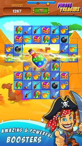 Pirate Treasure ud83dudc8e Match 3 Games 3.2.9 screenshots 1