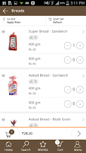 OhoShop Bakery App screenshot 1