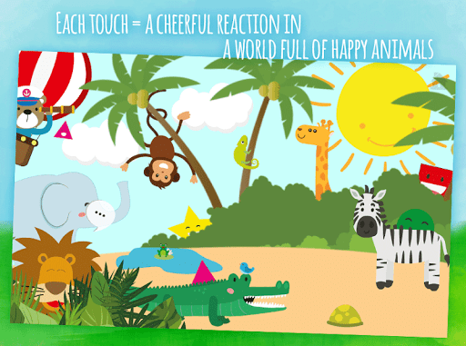Animals first words, game for toddlers from 1 year androidhappy screenshots 1