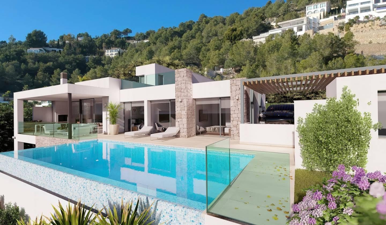 Villa avec piscine et terrasse Benissa