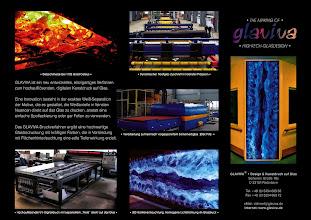 Photo: GLAVIVA • Digitaldruck auf Glas • www.glaviva.de  Von der Glasschmelze bis zum digitalen Kunstdruck auf Glas - und vom Glasdesign bis zur fertigen Glasbedruckung