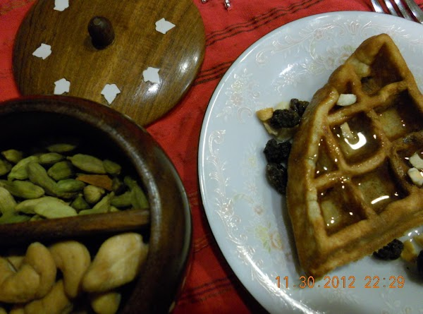 Coconut Milk Waffle Recipe