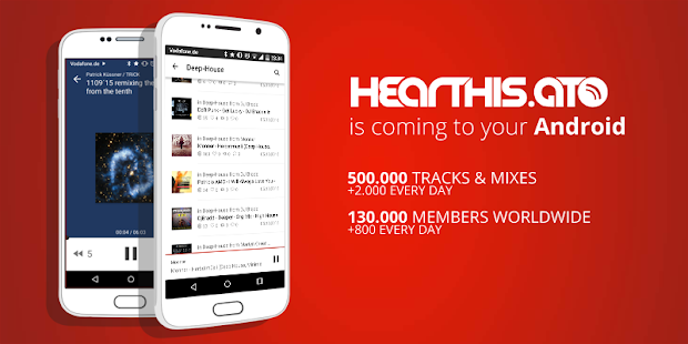 hearthis.at (Beta)- screenshot thumbnail
