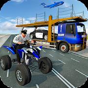Police ATV Bike & Car Plane Transport Truck Game 1.1