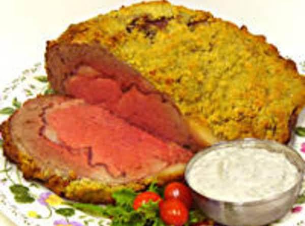 Roast Beef With Garlic Crust