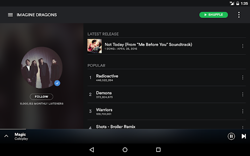 Spotify Music 8.4.66.729 Apk 10