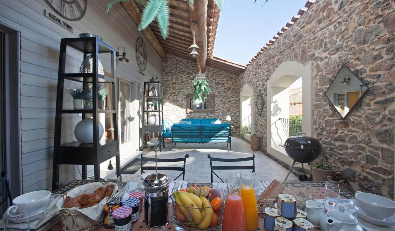 Maison avec piscine Rieux-Minervois