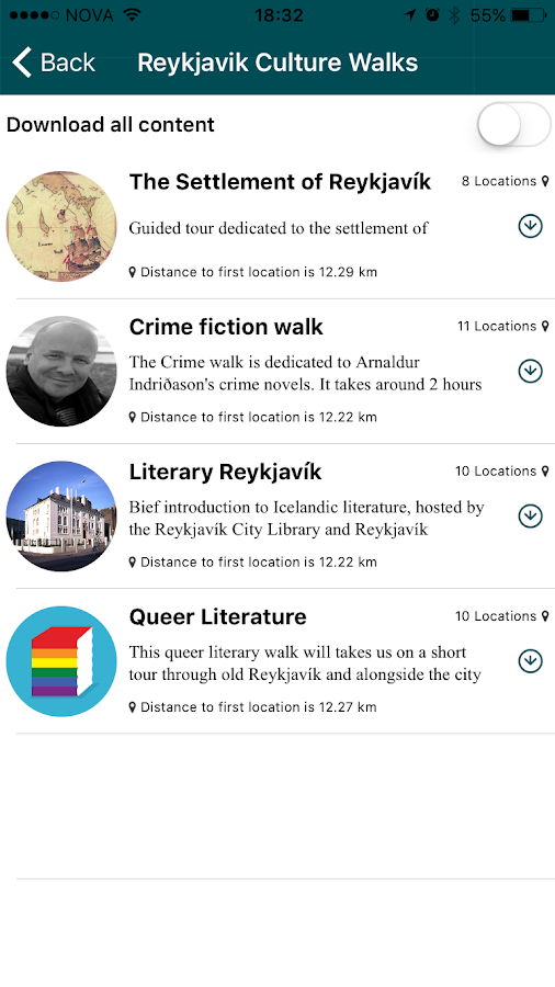 Reykjavik Culture Walks- screenshot