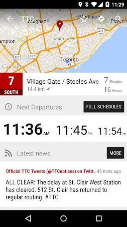 Toronto TTC Bus - MonTransit 1.1r53 screenshot 2092406