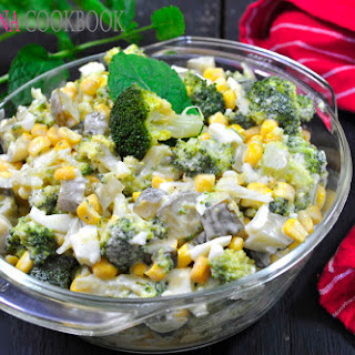 Easy Broccoli Salad.