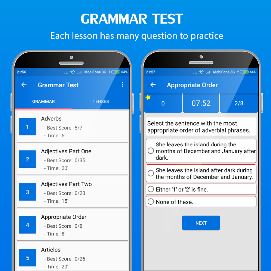 English Grammar Handbook- screenshot
