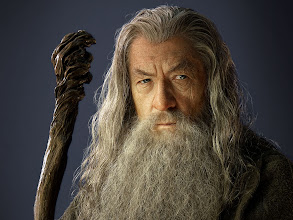Photo: Gandalf the Grey sans wizardly hat.