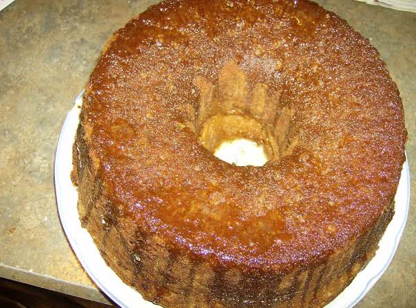 Lemon Glazed Sour Cream Pound Cake