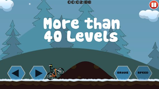 Mountain Bicycle Simulator 2D- screenshot thumbnail