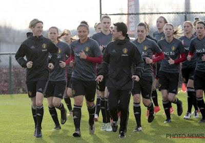 De training van de Belgian Red Flames ... in 30 seconden
