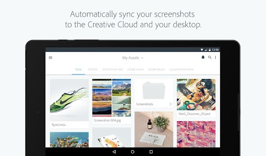 Adobe Creative Cloud- screenshot thumbnail