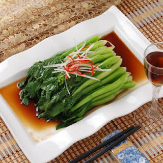 Broccoli Rabe With Oyster Sauce.