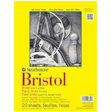 Strathmore Bristol Vellum Paper Pad 9X12