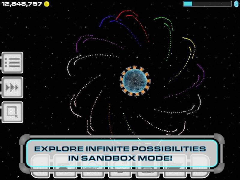 Скриншот Gravity Evolved