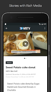 WBTV 3 Local News- screenshot thumbnail