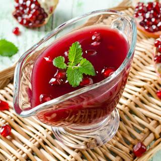 Raw Cranberry-Pomegranate-Ginger Relish