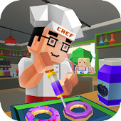 Sweet Donut Maker Cooking Chef